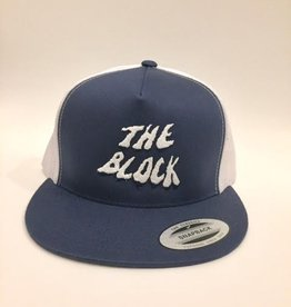 BLOCK Block Trucker Hat Navy/White