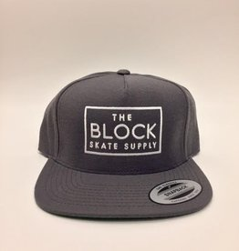 BLOCK Block Snapback Dark Grey