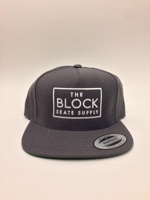 BLOCK Block Snapback Dark Grey