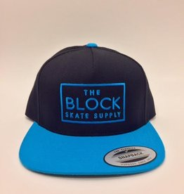 BLOCK Block Snapback Black/Teal