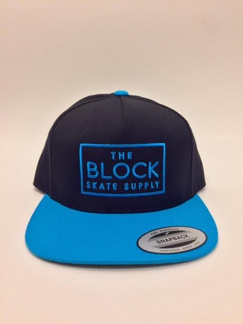 BLOCK Block Snapback Black/Teal