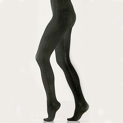Bamboo Cable Tights