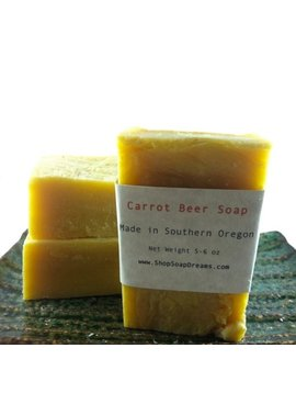 Carrot Beer Soap