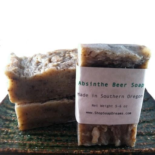 Absinthe Beer Soap
