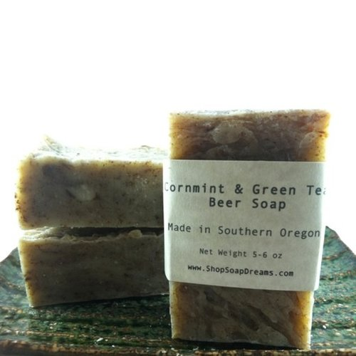 Cornmint & Green Tea Beer Soap