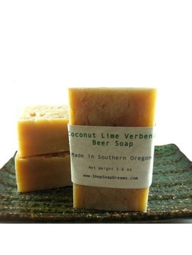 Coconut Lime Verbena Beer Soap