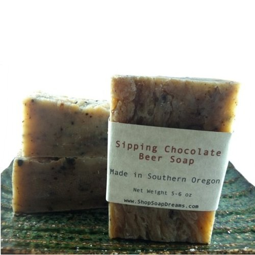 Sipping Chocolate Beer Soap