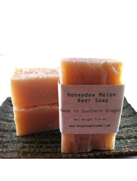 Honeydew Melon Beer Soap