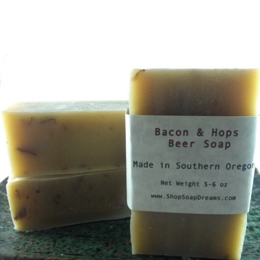 Bacon & Hops Beer Soap