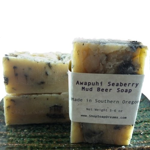 Awapuhi Seaberry Mud Beer Soap