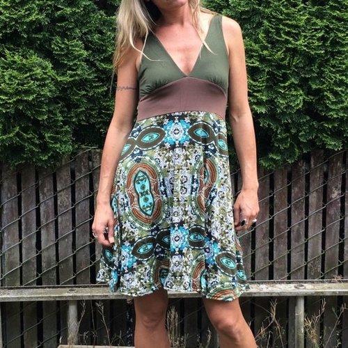 Gypsy Chic Sexy Dress, Eye