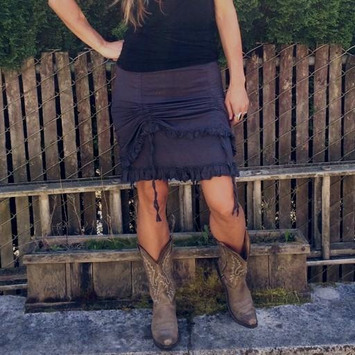 Kamala Ruffle Skirt
