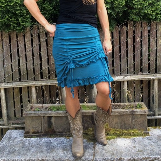 Gypsy Chic Kamala Ruffle Skirt