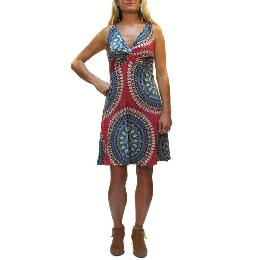 Gypsy Chic Strappy Twist Dress, Ankara