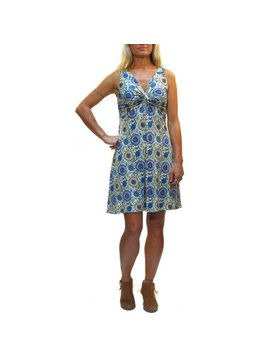 Gypsy Chic Strappy Twist Dress, Sunflower