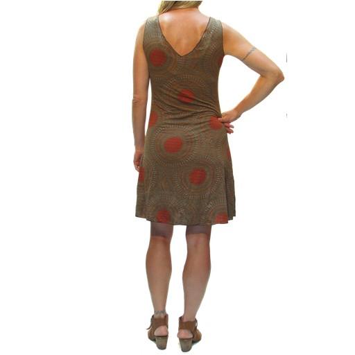 Gypsy Chic Tank Dress, Mandala