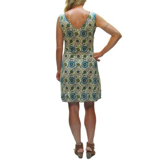Gypsy Chic Tank Dress, Sunflower