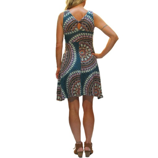 Strappy Twist Dress, Ankara