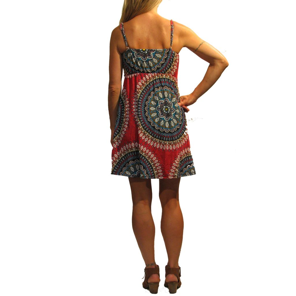 Gypsy Chic Little Twist Dress, Ankara