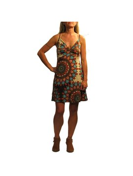 Gypsy Chic Little Twist Dress, Flower