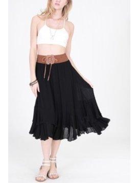 Double Zero Clementine Mid Skirt