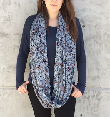 Gypsy Chic Thai Solid Rayon Large Scarf