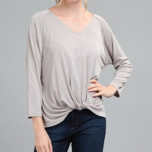 Pink Note Anabelle Long Sleeve Top