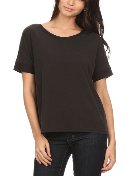 Pink Note Blair Slouch Tee