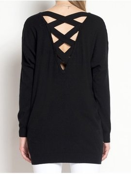 trend:notes Dreamy Criss Cross Sweater