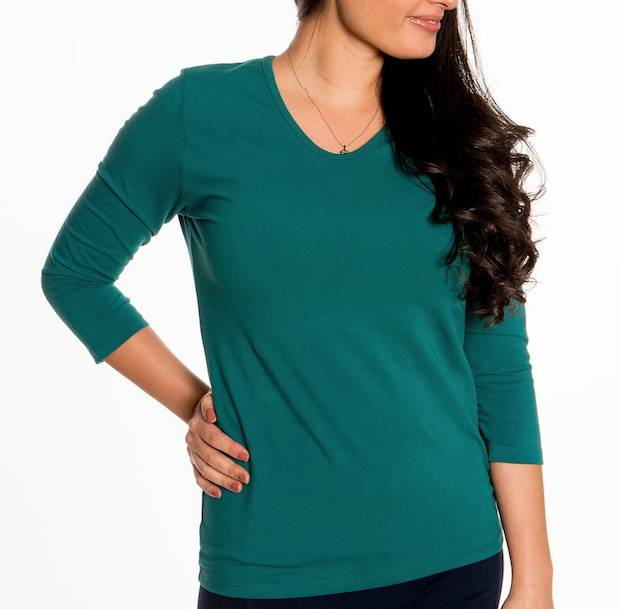 Heirloom Clothing Heirloom 3/4 V Neck Top