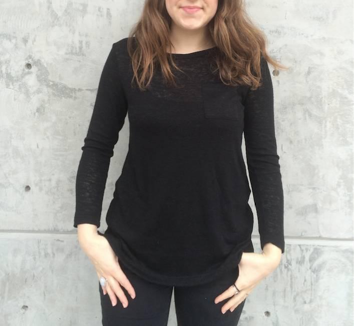 Michelle (Comune) Essential Burnout Long Sleeve Top