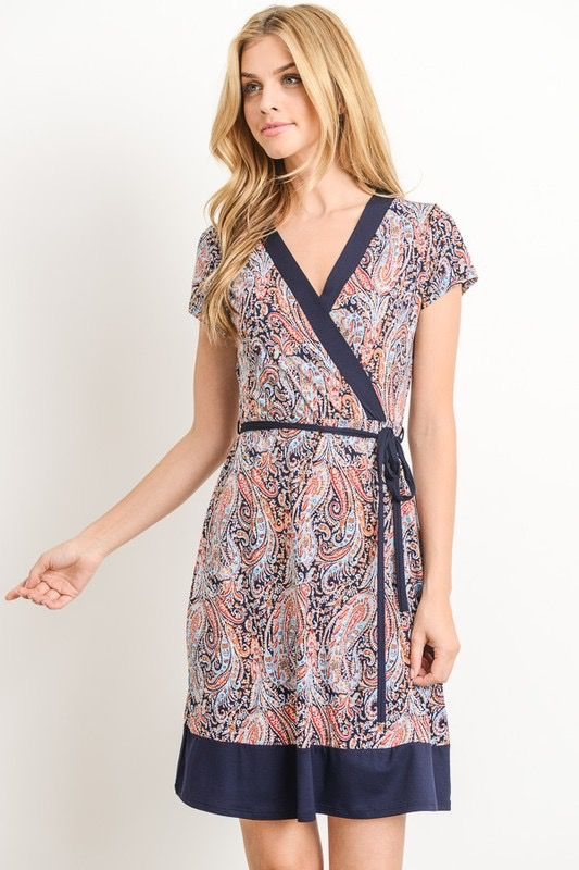 Gilli Wrap + Adorn Dress