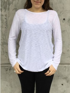 Michelle (Comune) Essential Long Sleeve Crew Neck Top