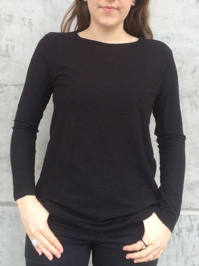 Michelle (Comune) Essential Long Sleeve Crew Neck Top