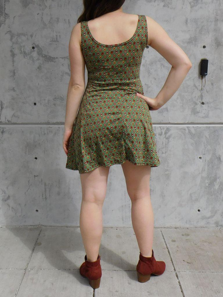 Gypsy Chic Skater Dress, Bouquet
