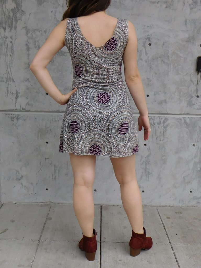 Gypsy Chic Tank Dress, Mandala