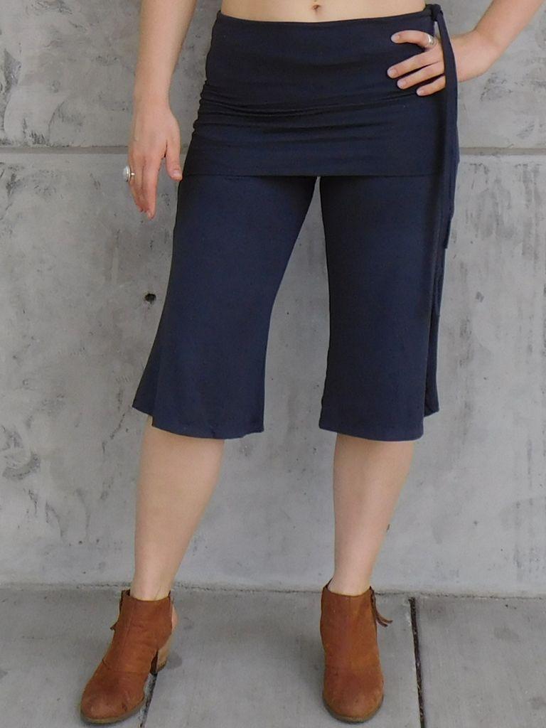 Gypsy Chic Mid Skirt Pant, Plain