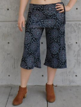 Gypsy Chic Mid Skirt Pant, Sanddollars