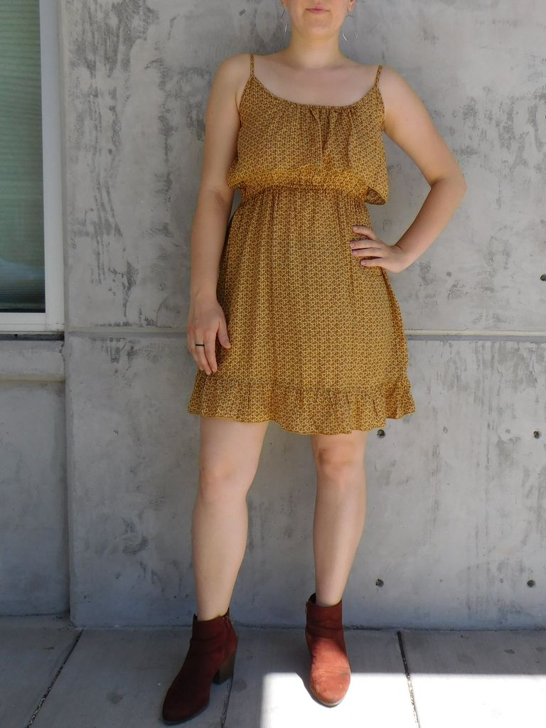 Prairie Dress, Vintage Garden - Gypsy Chic