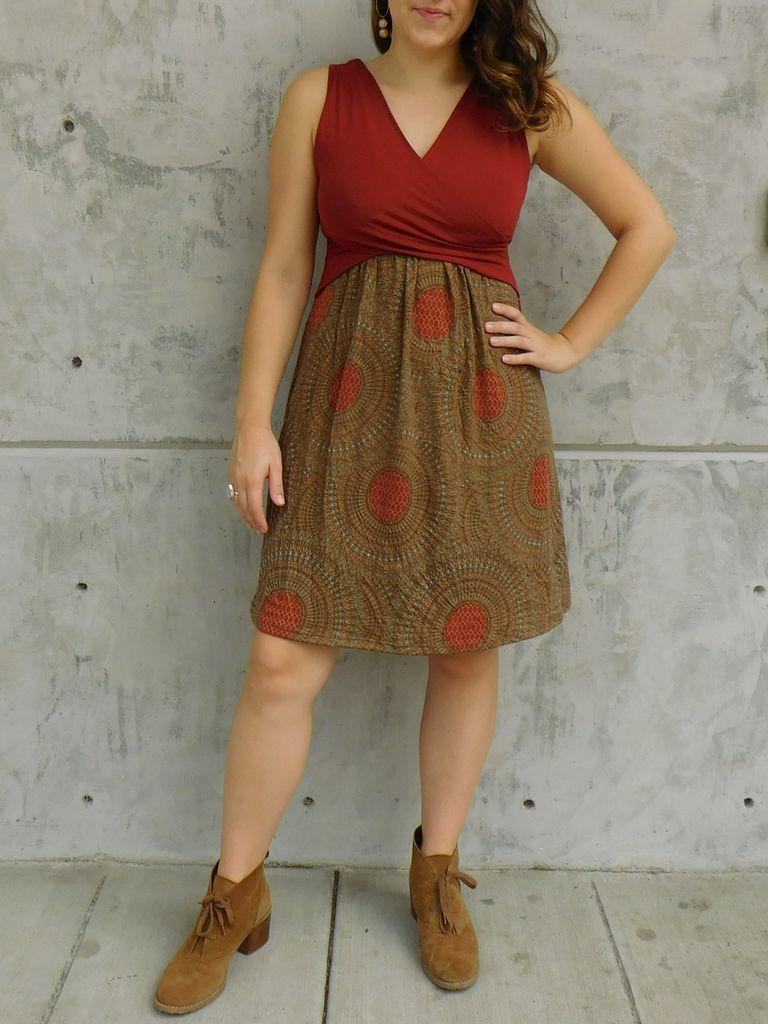 Gypsy Chic Santorini Dress, Mandala