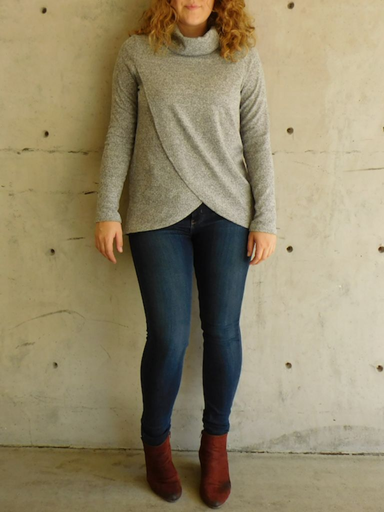 GCBLove Cedarwood Crossover Sweater