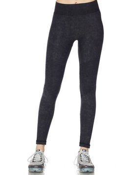 GCBLove Ash Wash Moto Leggings