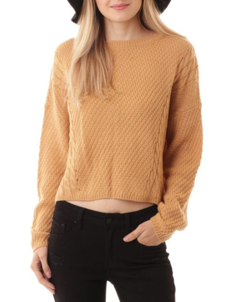 GCBLove Irving Cable Knit Sweater