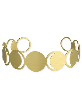 Zad Over The Moon Gold Bracelet