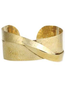Zad Modern Art Gold Cuff