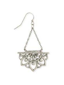 Zad Rising Lotus Dangle Earrings