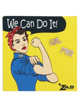 Zad Girl Power Post Earrings