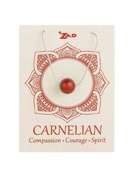 Gypsy Chic Carnelian Bead  Necklace