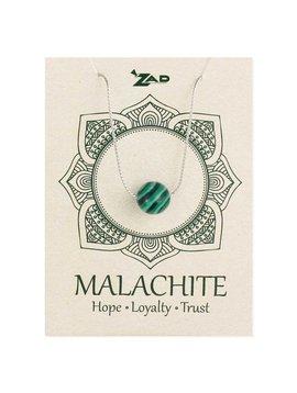 Gypsy Chic Malachite Bead Necklace