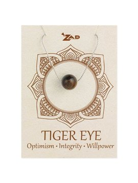 Gypsy Chic Tiger Eye Bead Necklace